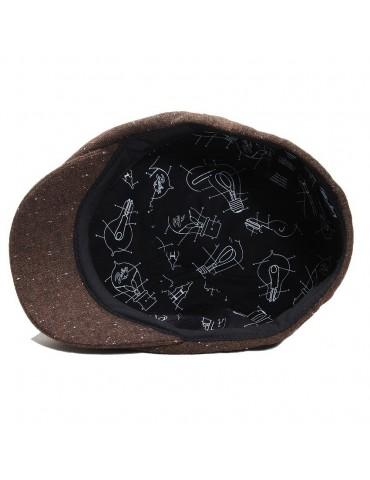 casquette laine marron doublée marque Bailey