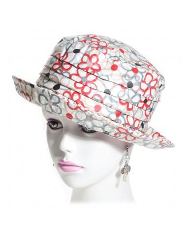 chapeau de pluie coton imprimé