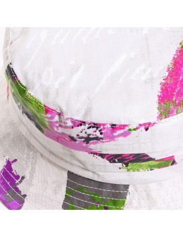 chapeau de pluie en coton imprimé