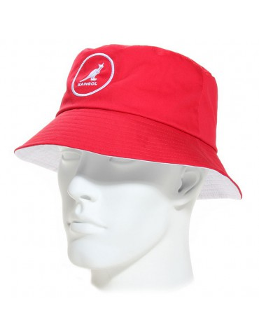 Kangol - Cotton Bucket rojo