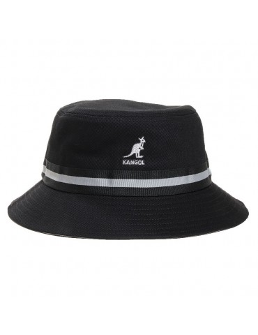 Kangol - Stripe Lahinch black