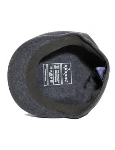 casquette laine 504 coloris gris anthracite marque Kangol