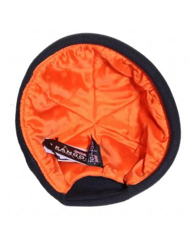 docker noir avec doublure orange
