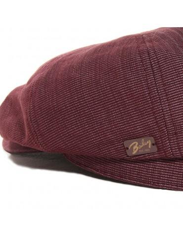 casquette gavroche en coton avec logo marque Bailey