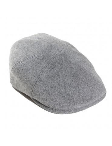 casquette en laine grise à 8 pans marque Bailey