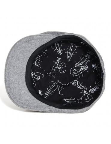 casquette en laine grise avec doublure marque Bailey