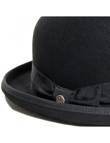 Chapeau Melon laine noir...