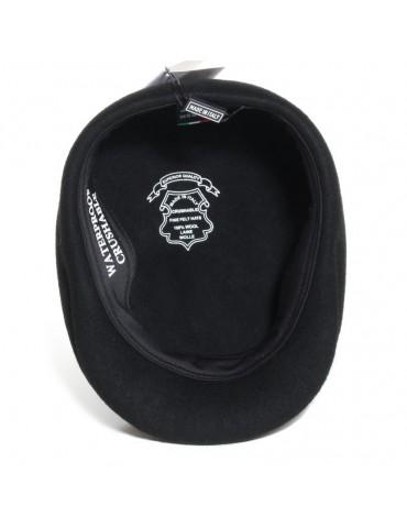 casquette formée noir waterproof et crushable