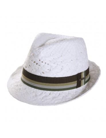 Chapeau Cliff blanc