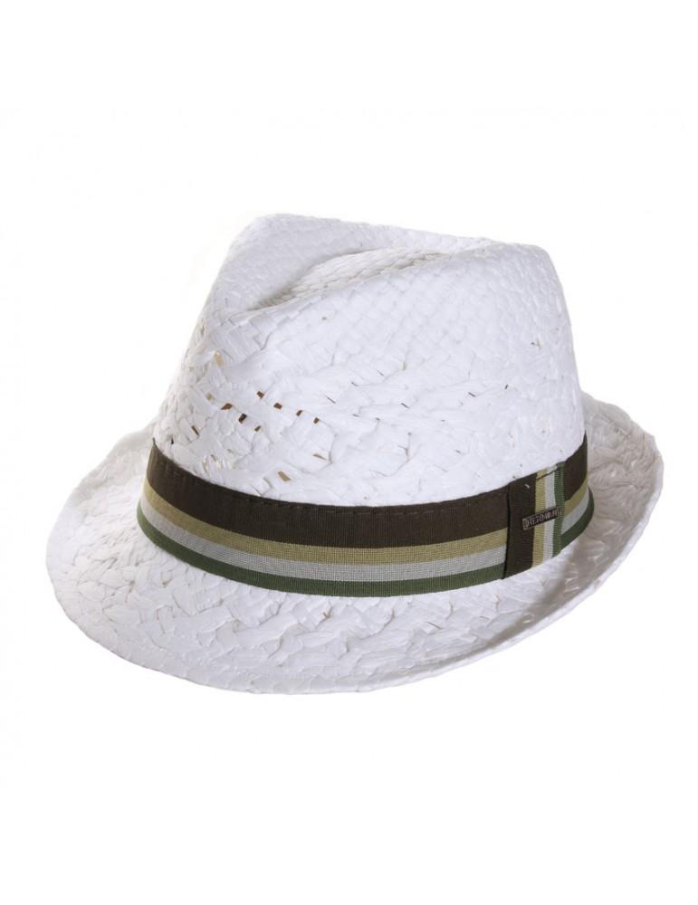 chapeau paille papier