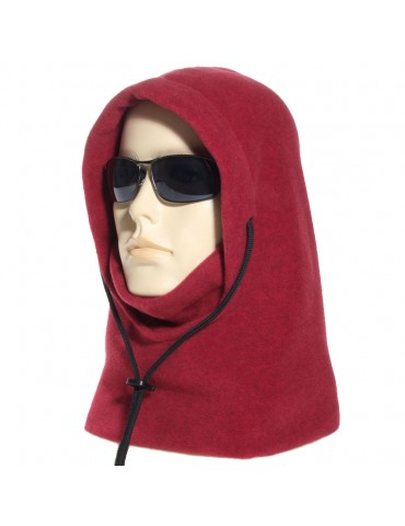 Cagoule canadienne made in France coloris rouge