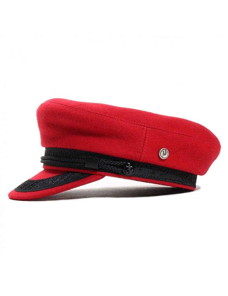 casquette marin rouge