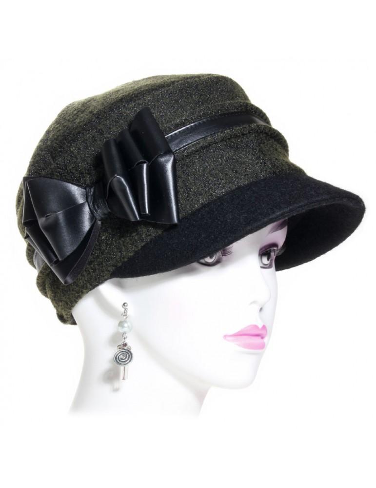 casquette cubaine femme kaki