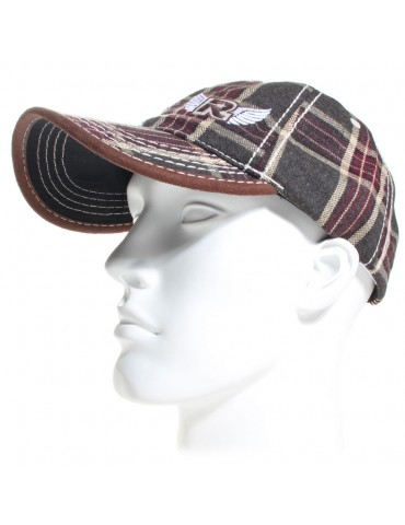 casquette baseball marron Herman