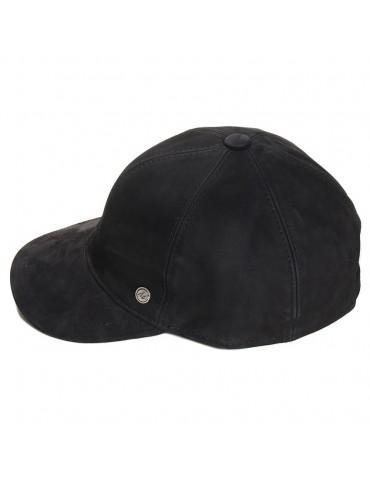 Modissima - Baseball cuir noir