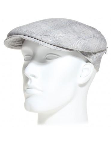 casquette Fléchet en lin et coton