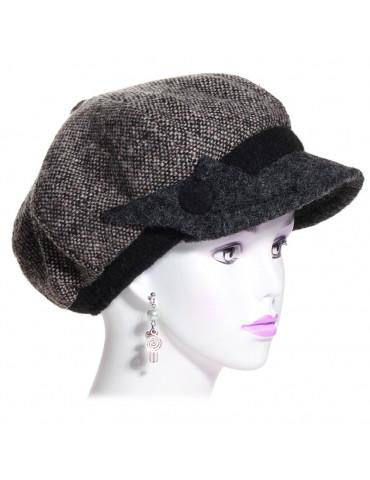 casquette gavroche pour femme coloris marron