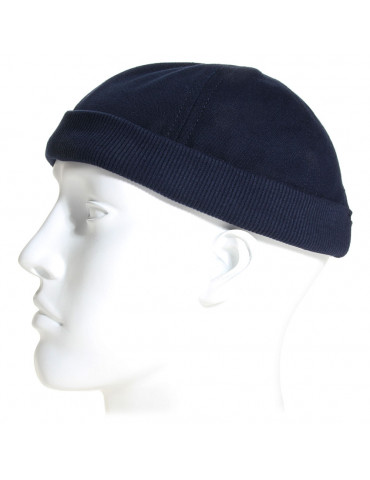 bonnet miki breton coton bleu marine