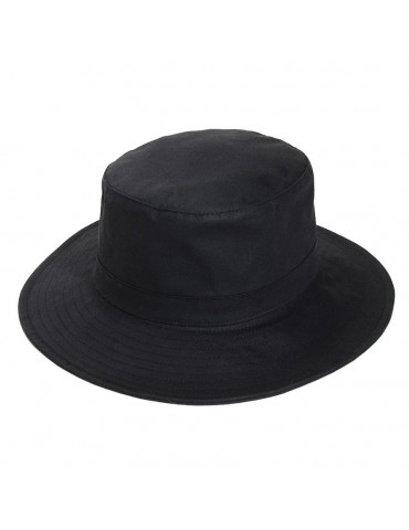 Chapeau coton huilé Finistère coloris noir