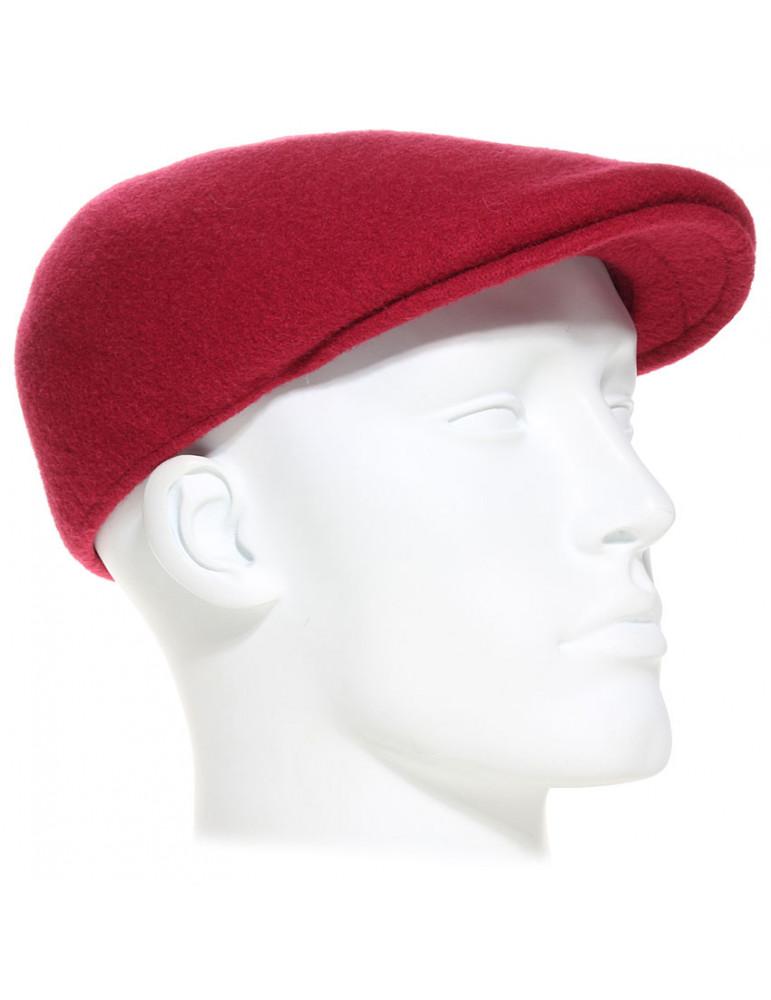 Casquette laine rouge Kangol