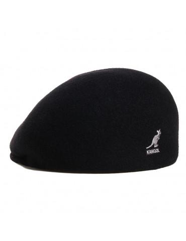 Casquette laine noir Kangol