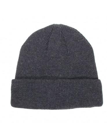 bonnet gris doublé polaire