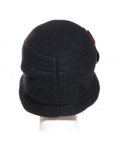 chapeau femme bord arrière rétréci