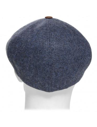 casquette laine avec bouton