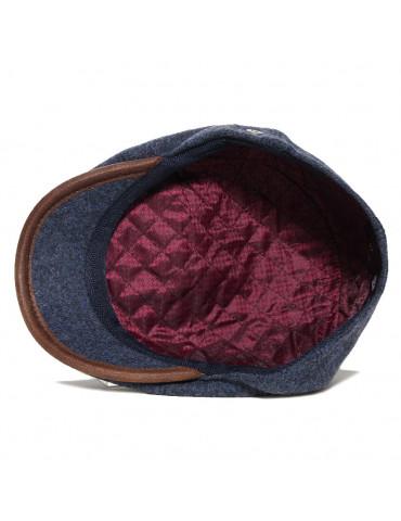 casquette laine doublée polyester marque M by Fléchet