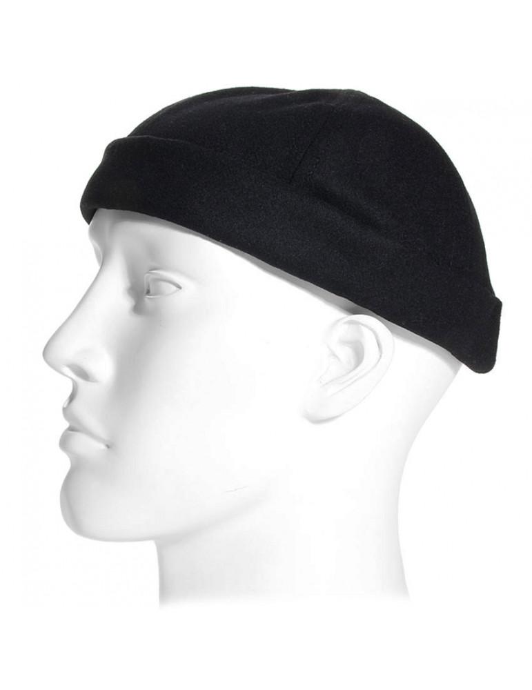 bonnet docker miki breton laine noir