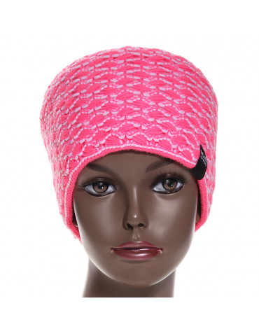 bandeau de ski large coloris rose fushia