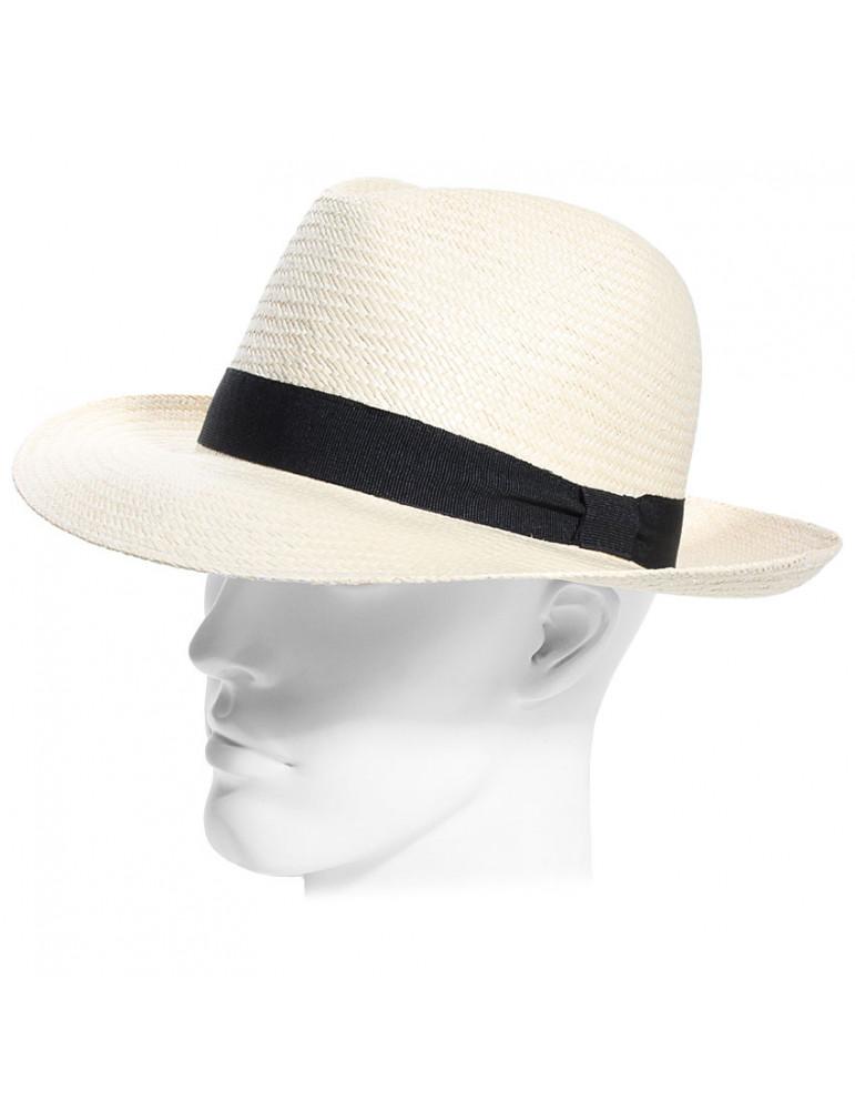 chapeau panama forme borsalino