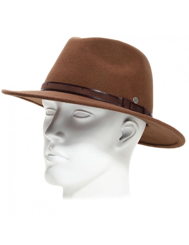 Chapeau feutre made in France coloris castor