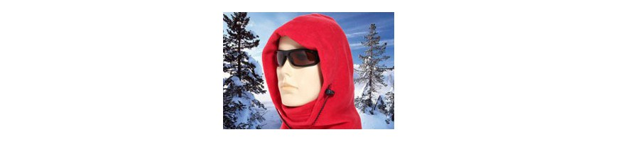 Cagoule homme polaire, canadienne, grand froid