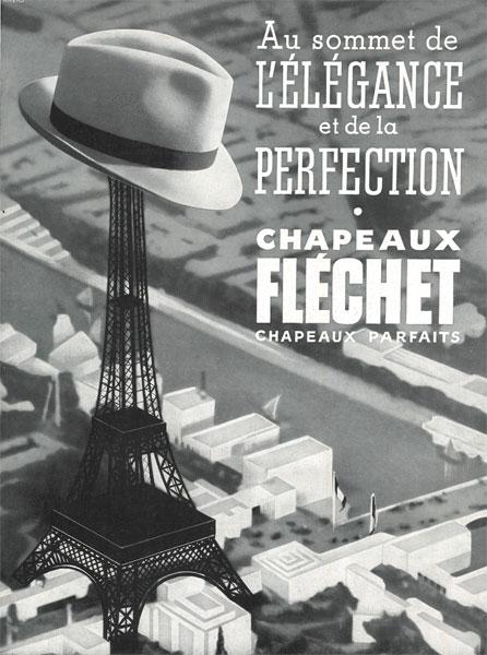 affiche marque Fléchet