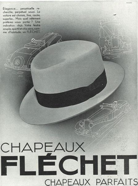Affiche marque Fléchet du 01 octobre 1932