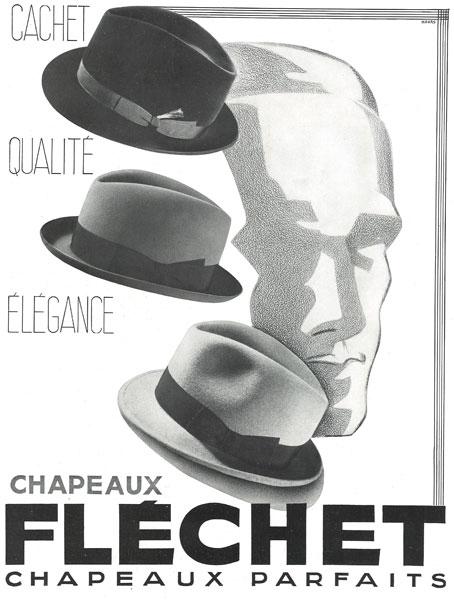 Affiche Fléchet du 31 octobre 1936