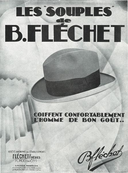 Affiche Fléchet 09 novembre 1929
