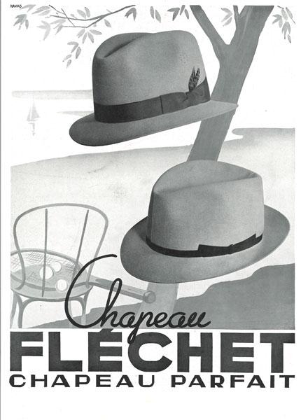 affiche fléchet du 02 mai 1936