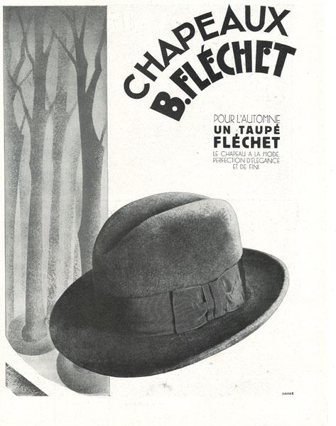 affiche flechet du 06 septembre 1930