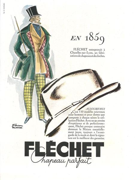 affiche flechet du 17 avril 1950
