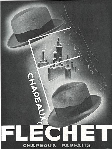 affiche Fléchet du 18 novembre 1933