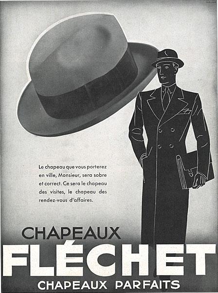 Affiche marque Fléchet du 29 octobre 1932