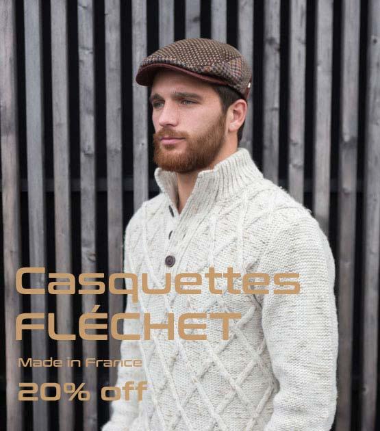 Casquette homme Fléchet
