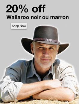 Wallaroo - Le chapeau cuir huilé par excellence